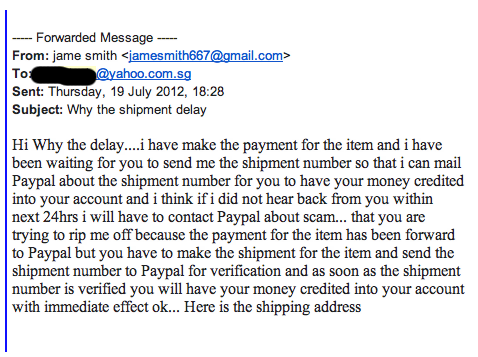 what is with all these scammers